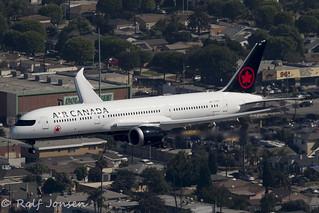 C-FRTW Boeing 787-9 Air Canada Los Angeles airport KLAX 14.09-18   by rjonsen