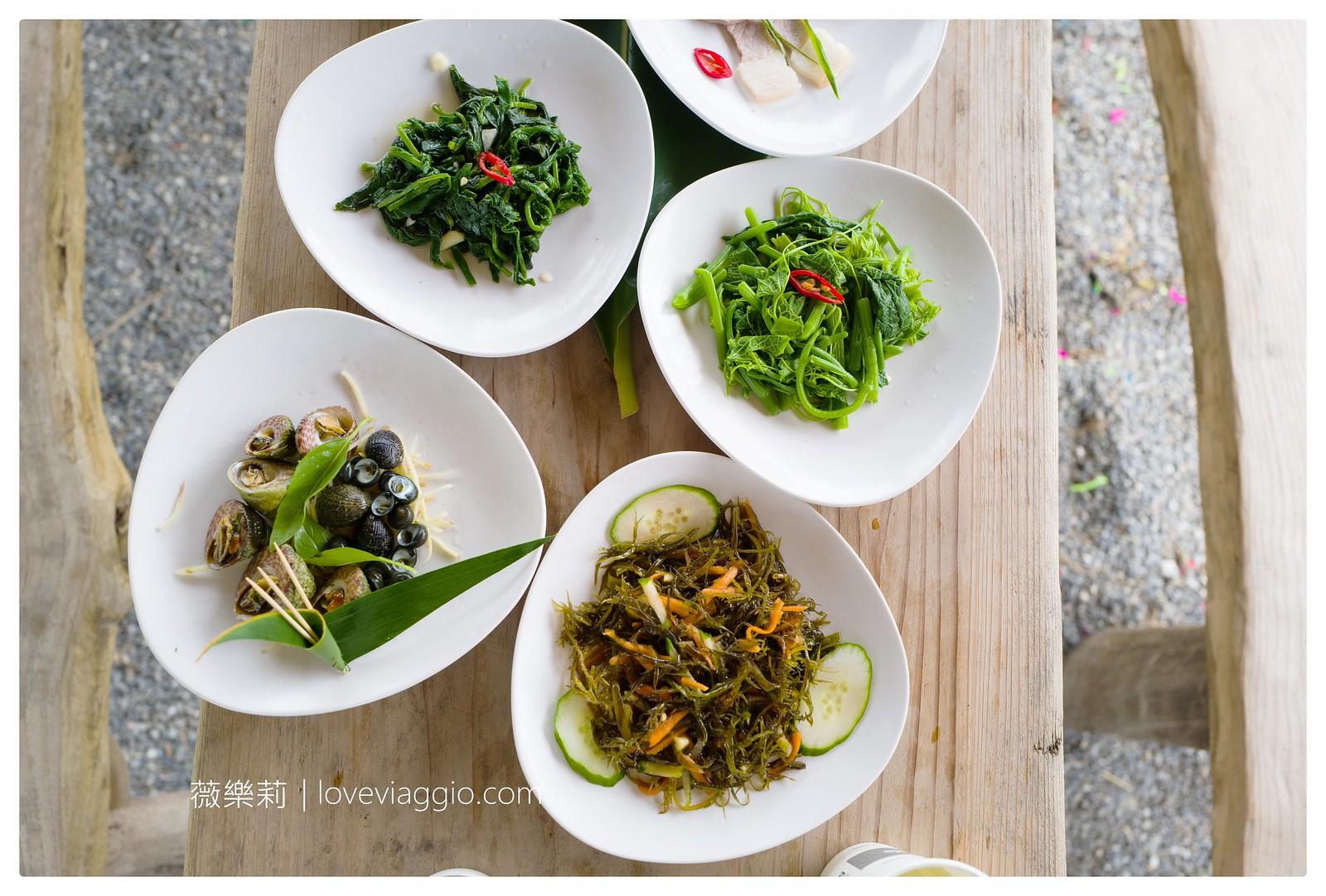 【台東 Taitung】達麓岸部落屋原住民風味餐 夏日東海岸的美食之旅 @薇樂莉 Love Viaggio | 旅行.生活.攝影
