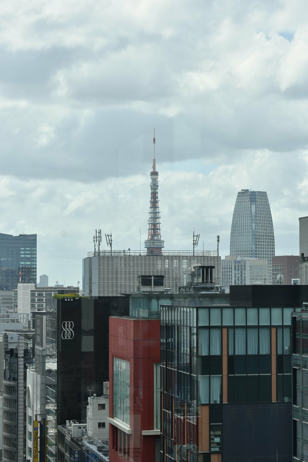 Ginza - Vue sur la Tokyo Tower