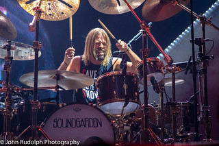 Foo Fighters shot for Back Beat Seattle   by John Rudolph Photography