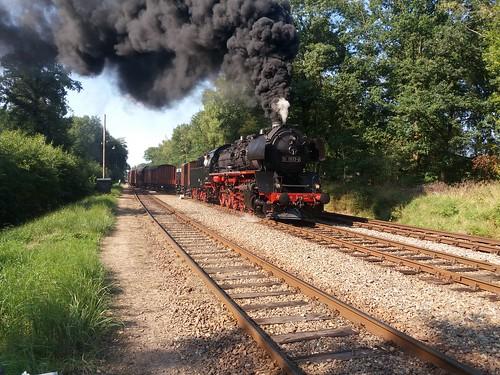 VSM 50 0073 in loenen met een flinke olie rookpluim | by TimF44