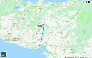 Maps_Honduras_BorderToComoyagua | by DrivenToWander