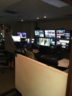 Video Production Trip to WBTV | Gaston Christian School