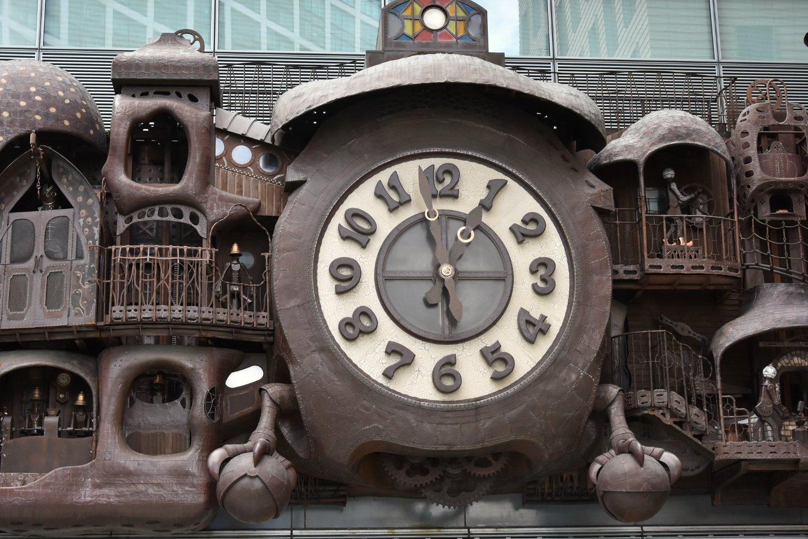 Shiodome - Horloge Ghibli