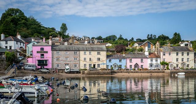 Dittisham on the River Dart, Devon