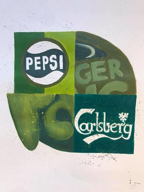 18-19 CU.P. Variationer over et logo