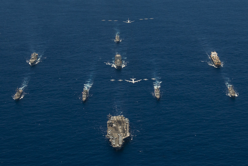 Aircraft Carrier and Jets