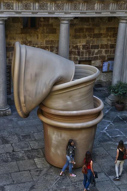Salamanca. Escultura de Barceló.