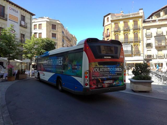 Scania Citywide (Vinilos VolatiriTormes)