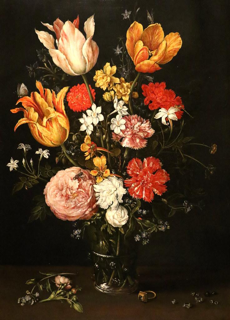 Fiori Con La E.Bottega Di Jan Brueghel Il Vecchio 1568 1625 Vaso Di Flickr