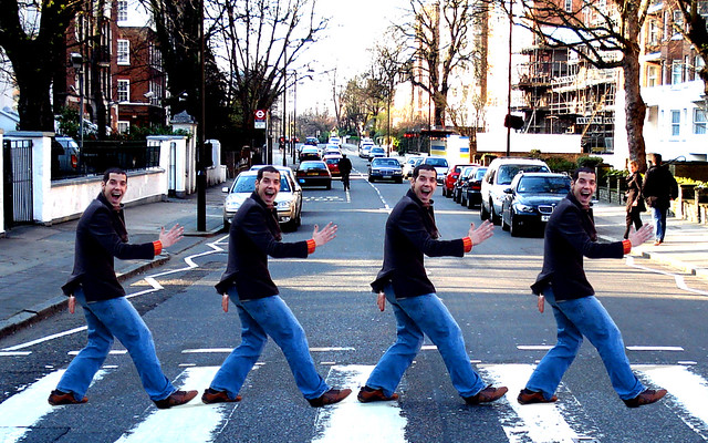 The 5th Beatle Crossing Abbey Road Wallpaper 1280 X 800 Flickr