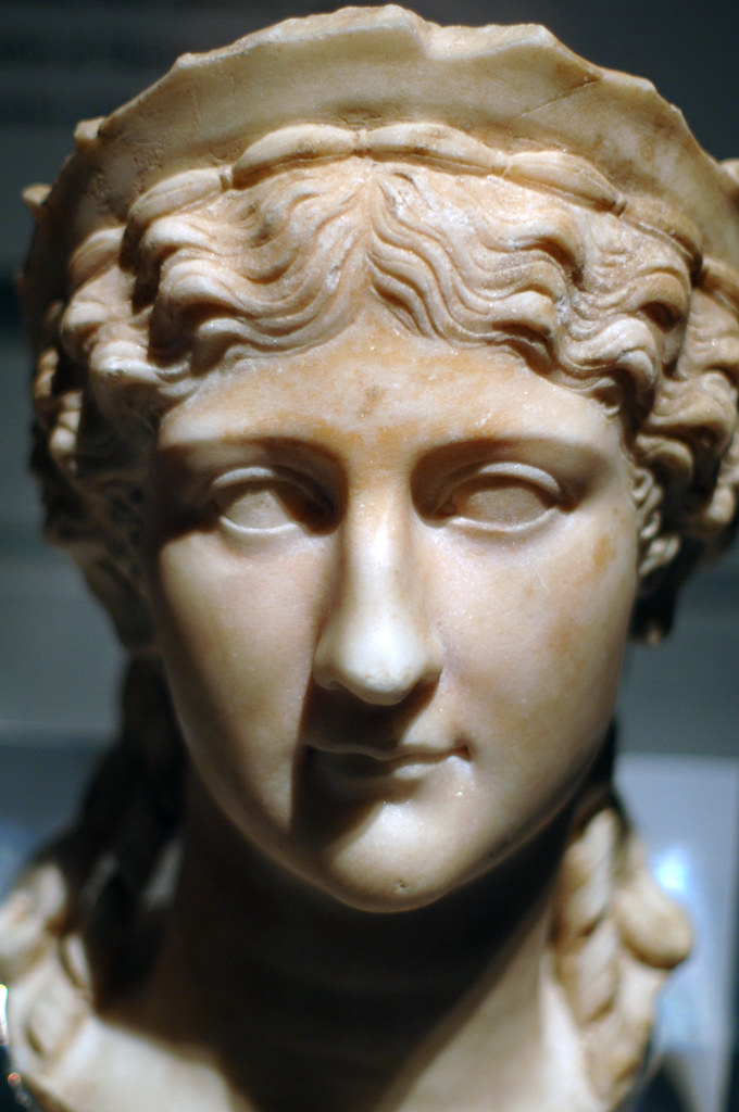 Agrippina The Elder Or Antonia The Younger Marble