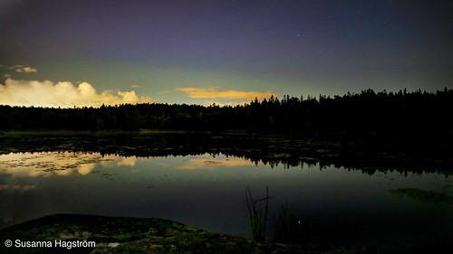 Late summer aurora borealis | by Blackpeppereye