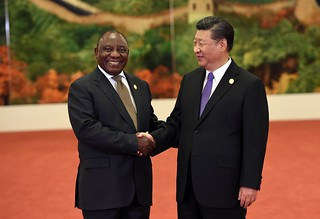 President Cyril Ramaphosa at 2018 Forum on China-Africa Cooperation | by GovernmentZA