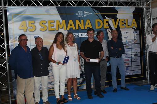 Entrega premios 45 Semana de la Vela