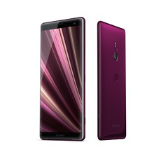 Xperia XZ3_Group_Bordeaux_Red_Front40_Back40
