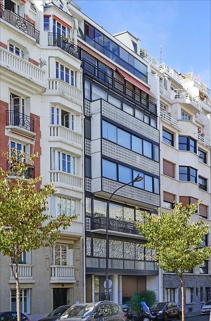 L'immeuble Molitor de Le Corbusier (Paris)