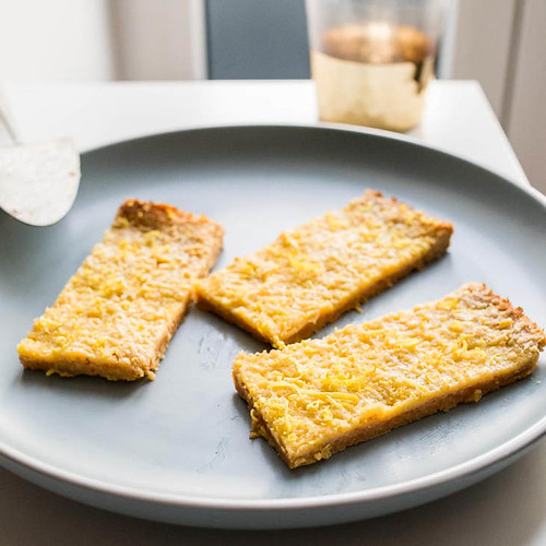 Keto Lemon Bars | by KetoSummit
