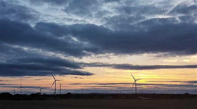 Landscape Sunset Panorama - Lynemouth