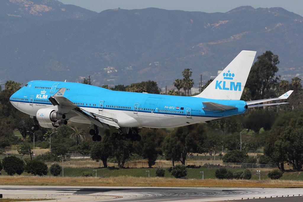 PH-BFU, Boeing 747-400, KLM, Los Angeles | Colin Parker | Flickr