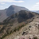 Looking towards Calf Robe Mountain