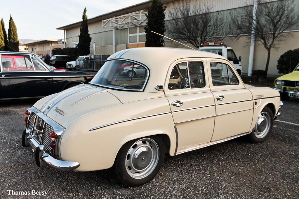 Renault Dauphine Gordini 1958 Chassis N 2987689 Thomas Bersy Flickr
