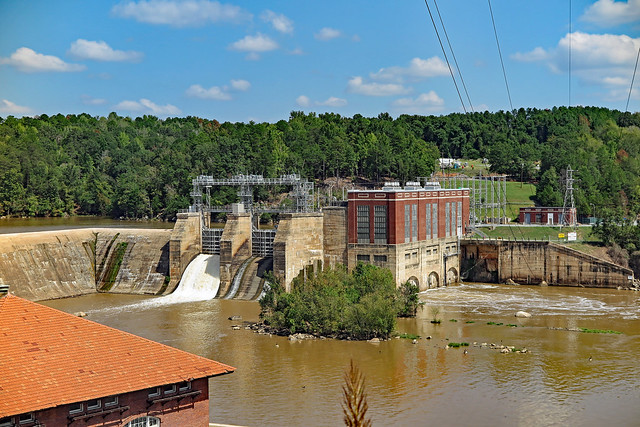 Beautiful Old Hydroelectric Plant Duke Energy on The Wateree River