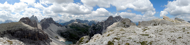 Panoramica dalle Crode Fiscaline