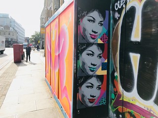 Aretha Franklin by Pegasus | by Matt From London