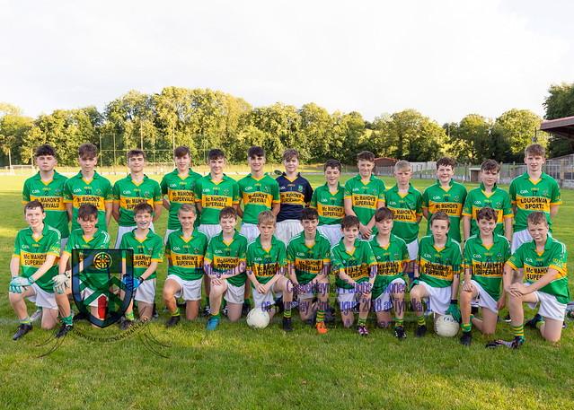 Castleblayney Faughs v Clones Under 15 Div 2 League Cup Final 2018