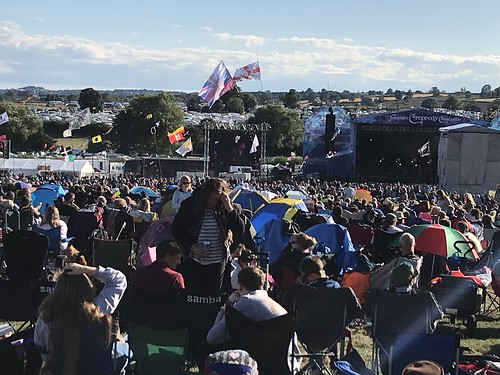 Cropredy 2018 top of the field shot | by folkmaster@himself