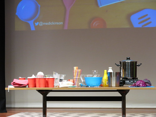 Nanogirl: Cooking with Science