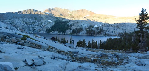 2162 The Pacific Crest Trail climbs gradually along the granite ridge east of Dicks Lake | by _JFR_