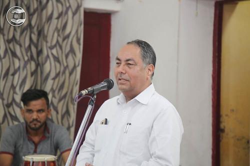Member Executive Committee, Radhey Shyam, expresses his views