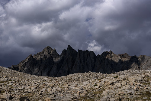 Bishop Pass from the South - explored 09/12/2018   by speedcenter2001