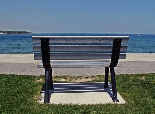 benchmonday bench lake lakehuron