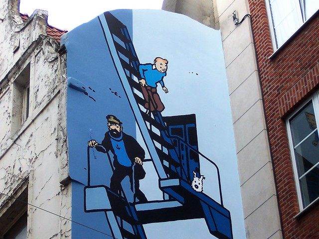 Belgian icons - Tintin and friends
