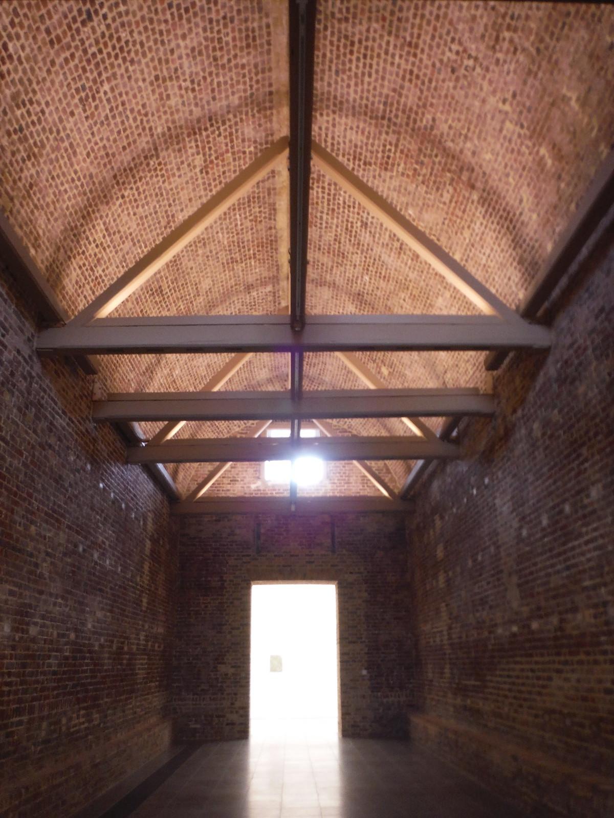 Inside Serpentine Sackler Gallery SWC Short Walk 19 - Royal Parks