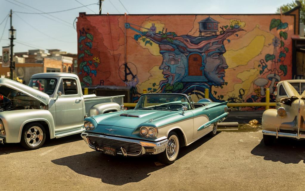 Dallas Car Show >> Ford Thunderbird At Invasion Car Show Dallas Tx Flickr