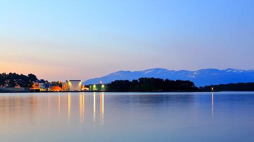 langlukkertid norway norge norwegen natt noreg hordaland night