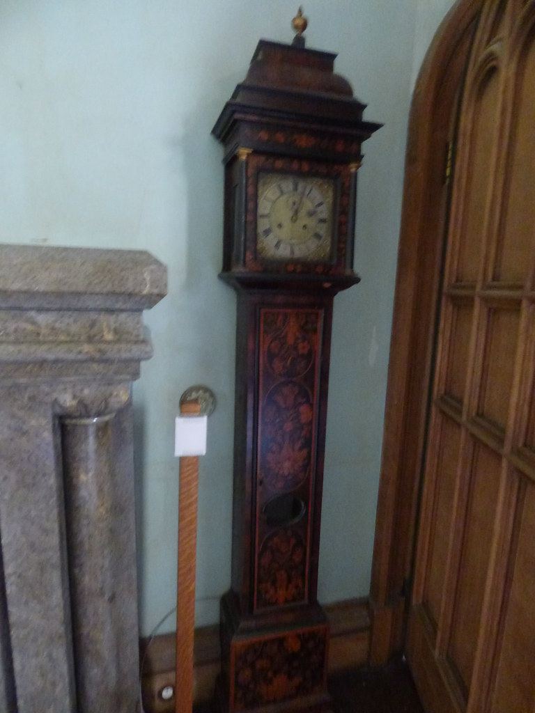 Penrhyn Castle - Passage to the Keep - grandfather clock