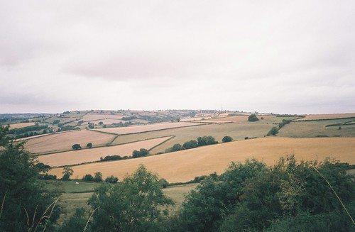 Looking west from Maes Knoll | by knautia