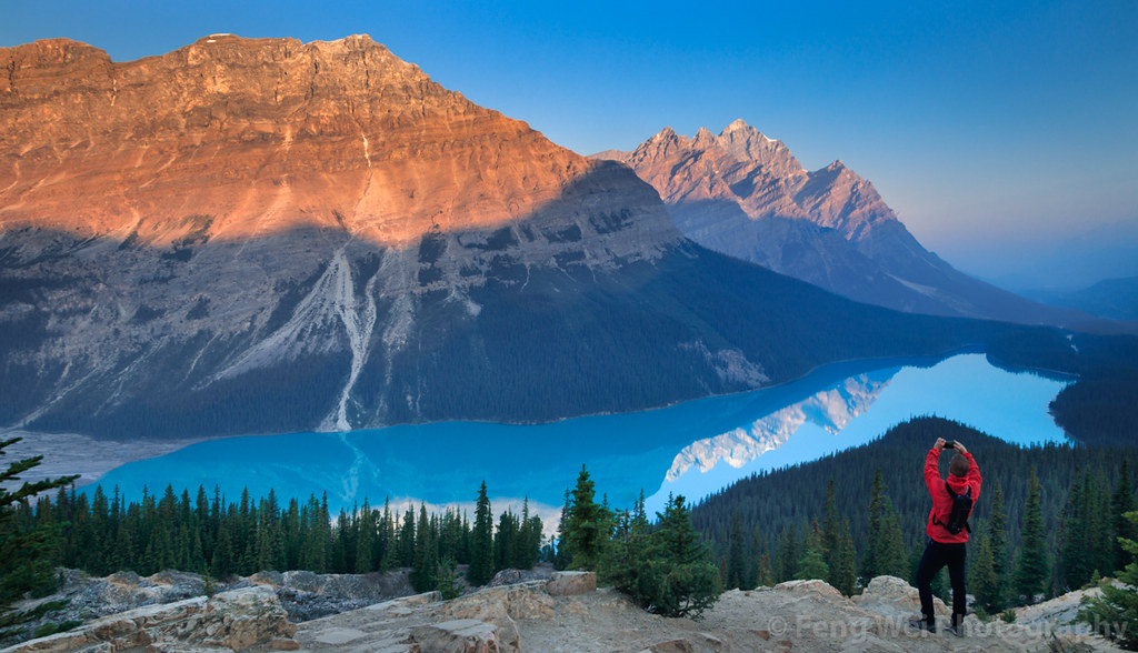 Sunrise @ Peyto Lake, Banff National Park, Alberta, Canada… | Flickr