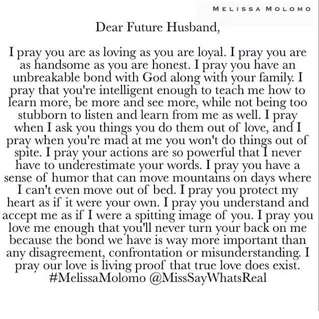 Love quote and saying : Dear Future Husband, You will be E ...