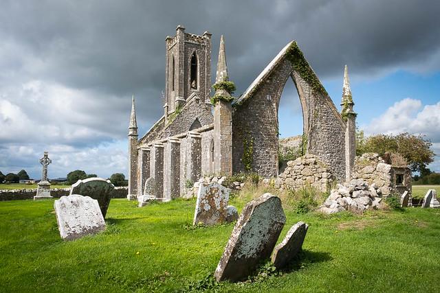 Ballynagh church,kildare,Ireland.