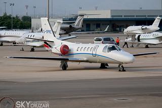 G-SPRE Xclusive Jet Charter Cessna 550 Bravo   by Skycruzair