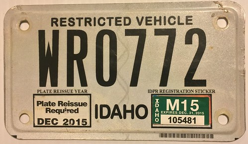IDAHO 2015---WR---OFF ROAD VEHICLE | by woody1778a