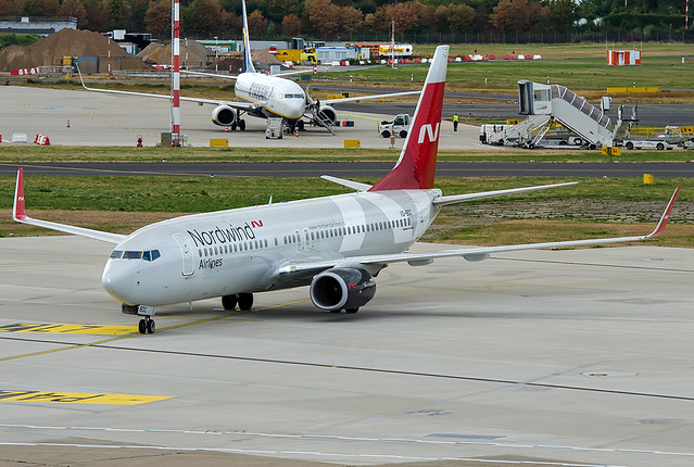 VQ-BDC Nordwind Airlines Boeing 737-8SH