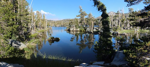 0923 The view of Middle Velma Lake from our own private cove near our campsite, complete with tiny islands | by _JFR_