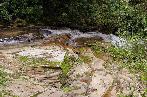 saluda north carolina the south blue ridge mountains pacolet river water stream hike hiking outdoor landscape woods forest moss